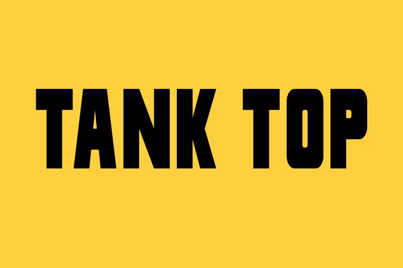 entrenamiento tank top para tonificar